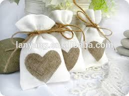 linen favor bags mini linen burlap style drawstring pouch wedding party favor bags