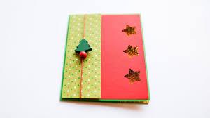 how to make simple christmas card prosta kartka na boże