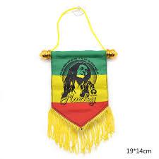 bob marley home decor music star bob marley tassels hanging flag hanger scroll fan gift