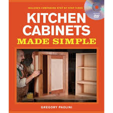 diy kitchen cabinets book kitchen cabinets made simple with dvd