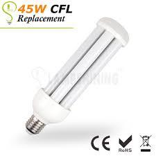Gas Station Canopy Light Bulbs by 15 Watt Led Corn Light Bulbs 45w Cfl Light Replacement Lampshining