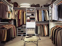 Pole In Bedroom Corner L Shaped White Wooden Closet With Steel Pole And Clothes