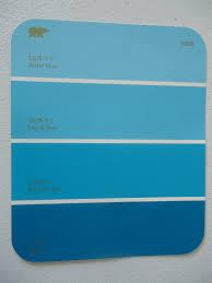 turquoise blue paint pearl gateway paint chip bookshelf redo
