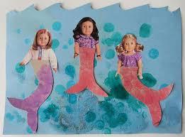 7 mermaid preschool images kids crafts