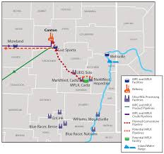 Map Testing Ohio by Cornerstone Pipeline U0026 Utica Build Out Projects Binding Open Season