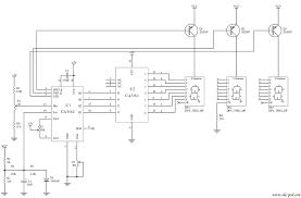 component ca3162 simple digital voltmeter circuit diagram by car