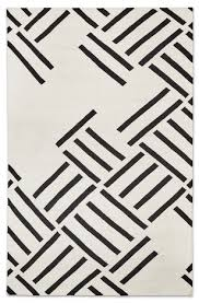Black And White Modern Rug Modern Rugs Floor Mats 2modern
