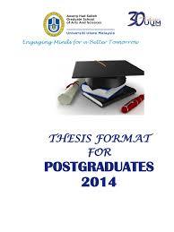 format abstrak tesis format penulisan tesis uum thesis distance education