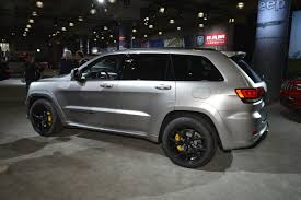 dark gray jeep grand cherokee super villain 707 hp jeep grand cherokee trackhawk