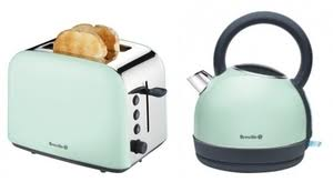 Pastel Green Kettle And Toaster U2013 Glass Dishes For Meat U0026 Dairy