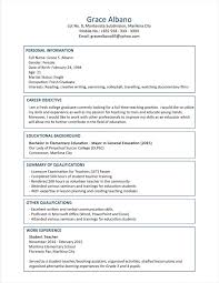 Organizational Skills Examples For Resume by Resume Examples Of A Profile For A Resume High