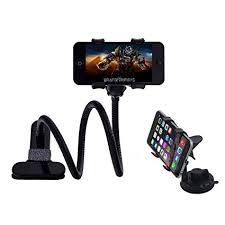 amazon com car smartphone mount and gooseneck phone holder with