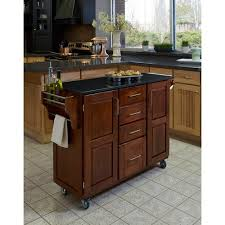 kitchen islands with granite top home styles large kitchen cart cottage oak black granite top