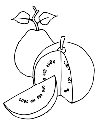 guava coloring page handipoints