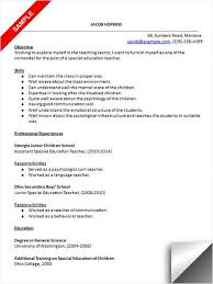 Special Education Resume Examples by 157 Best Resume Examples Images On Pinterest Resume Examples