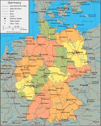 map of gemany germany map and satellite image