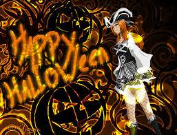 anime halloween background happy halloween orihime by xhyouga on deviantart