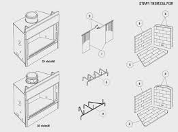 fireplace parts of a wood burning fireplace design ideas photo