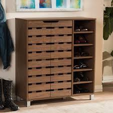 Shoe Rack For Closet Door Astonishing Closet Door Shoe Holder Ideas Wooden Stock