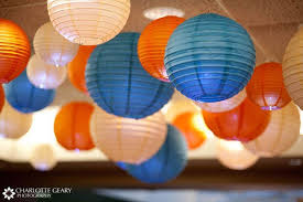 paper lanterns make great wedding decorations the merry bride