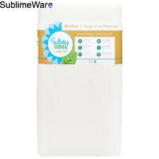 Naturepedic Mini Crib Mattress Lullaby Earth 2 Stage Breathable Crib Mattress White By