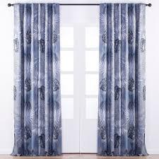 Blue Grey Curtains Ulrika Jacquard Curtain Blue Grey Curtains Jysk Canada
