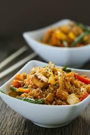 dirty thanksgiving dirty thai fried quinoa