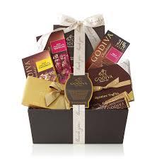 thank you gift basket bliss chocolate gift basket thank you godiva