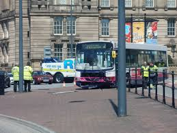 file bus crash by william brown street liverpool 23 may 2013 jpg