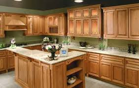 kitchen with wood cabinets kitchen ideas light oak cabinets wood floor with honey new paint