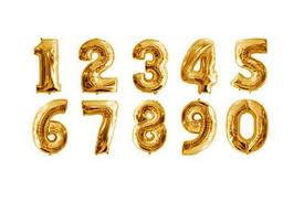 metallic balloons metallic gold foil number 0 balloon pop roc