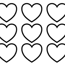 coloring pages of a heart a coloring page of a heart heart coloring pages coloring pages