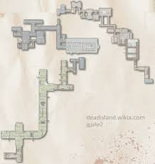 prison map large dead island wiki fandom powered by wikia