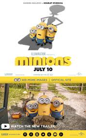minions movie trailer poster minions pink