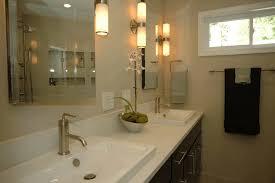 metal bar towel handle white ceramic bowl with plant rectangular