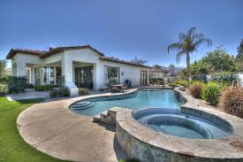 early california style house featuring guest house indian wells