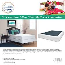 King Mattress Foundation Signature Sleep Premium Ultra Steel Mattress Foundation Walmart Com