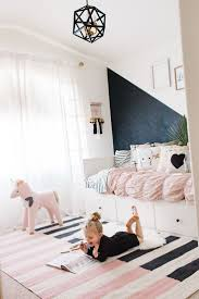 best 25 girl rooms ideas on pinterest girl room girl bedroom pretty rug soft pastels and black accents modern little girls room