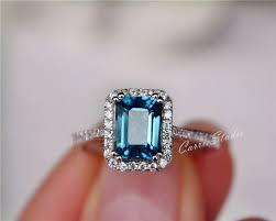london blue topaz engagement ring best 25 topaz engagement rings ideas on blue topaz