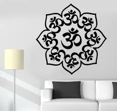 Lotus Flower Wall Decal Om by Aliexpress Com Buy Home Decals Buddha Lotus Stickers Removable