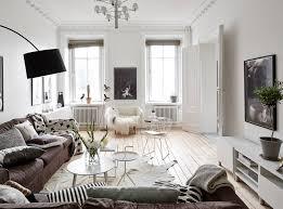 pohodový skandinávský interiér designville