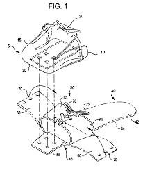 patent us6895694 toe shoe google patents