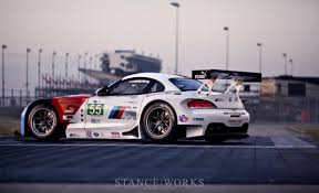 bmw race cars stance works the new alms bmw z4 gte