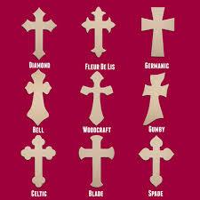 unfinished wood crosses 18 wood cross unfinished diy medium wooden craft cutout