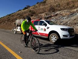 lexus bolton team cyclist rides 2000km to fight rhino poaching zululand observer
