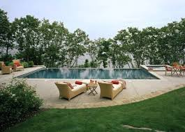 Pool Landscaping Ideas by Simple Pool Landscaping Ideas With Trees And Grasses Swimming