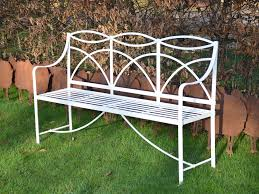 Antique Wrought Iron Patio Furniture by A Regency Wrought Iron Garden Bench C 1820 England From