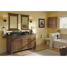 Traditional Bathroom Vanity by Allen Roth Ballantyne Mocha With Ebony Glaze Traditional