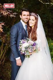 hello wedding dress exclusive x factor jones and ethan boroian married
