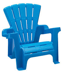 Outdoor Plastic Chairs Amazon Com American Plastic Toy Adirondack Chair Blue Toys U0026 Games